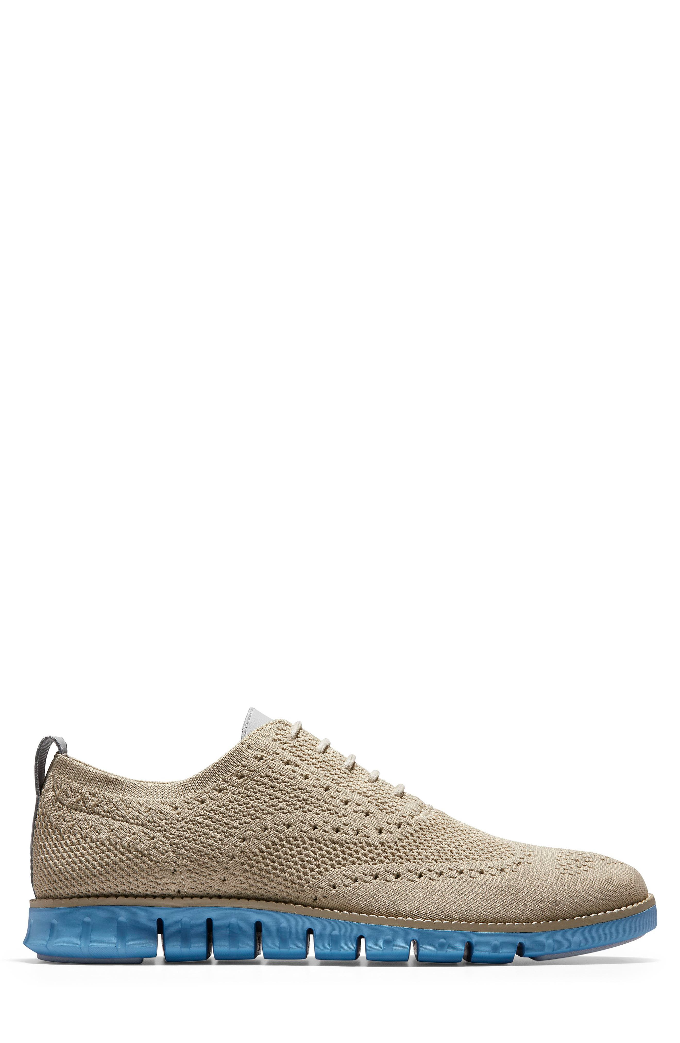 ,                             ZeroGrand Stitch-lite Wingtip Oxford,                             Alternate thumbnail 3, color,                             HAWTHORN/ PACIFIC