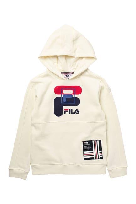 Image of FILA USA Logo Hoodie
