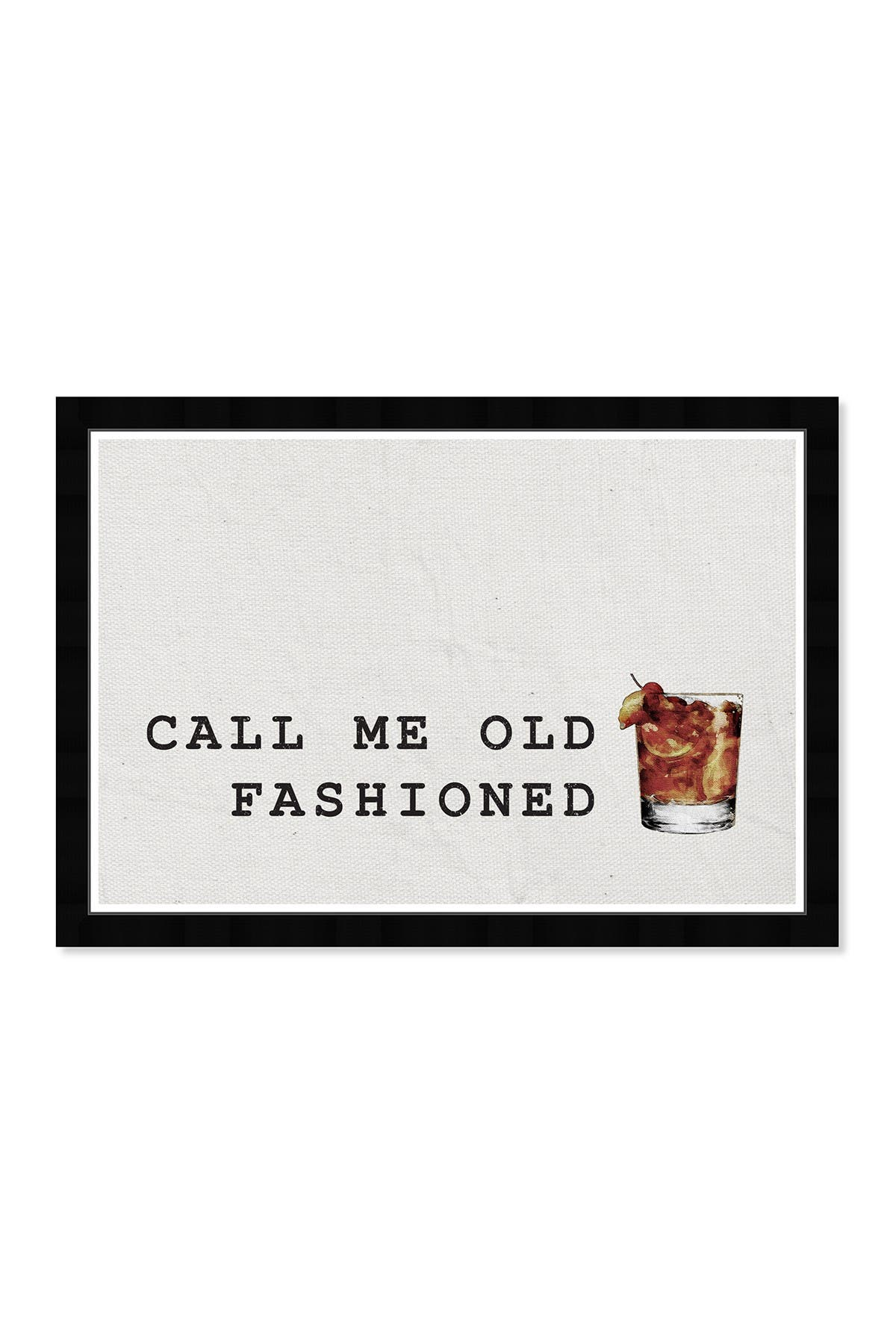 Wynwood Studio Mr Old Fashioned Drinks & Spirits Framed Wall Art at Nordstrom Rack