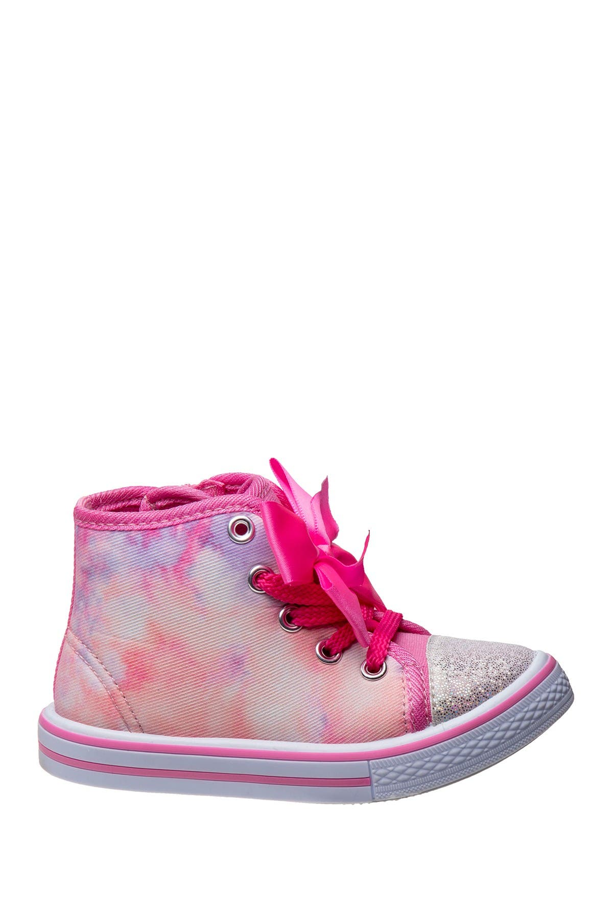 Image of Josmo Tie Dye Bow High Top Sneaker