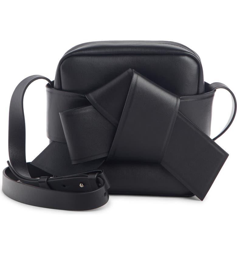 ACNE STUDIOS Musubi Camera Bag, Main, color, BLACK