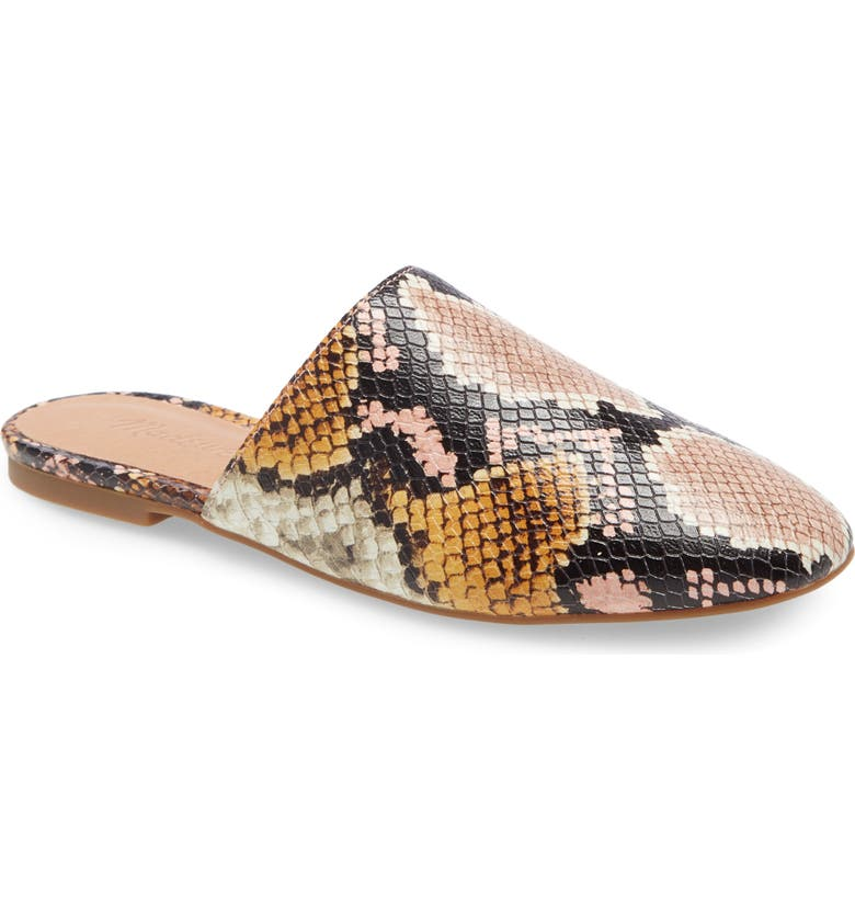 MADEWELL The Cory Mule, Main, color, SNAKE PRINT EMBOSSED