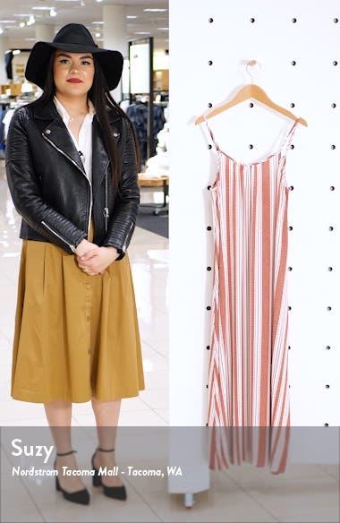 Stripe Maxi Dress, sales video thumbnail