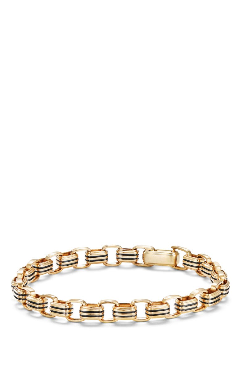 DAVID YURMAN Southwest Link Bracelet, Main, color, GOLD