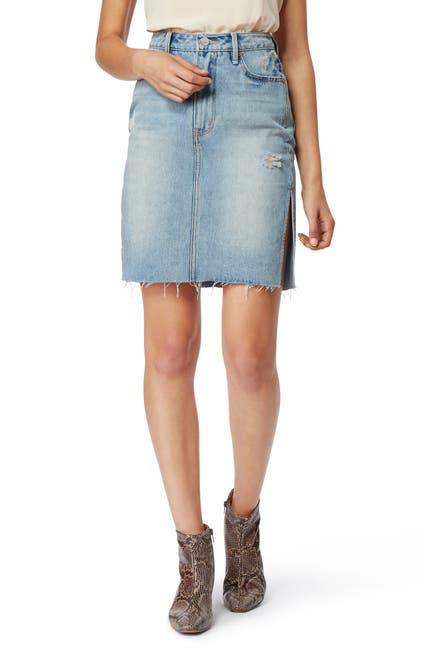Image of Habitual Willa High Waist Denim Skirt
