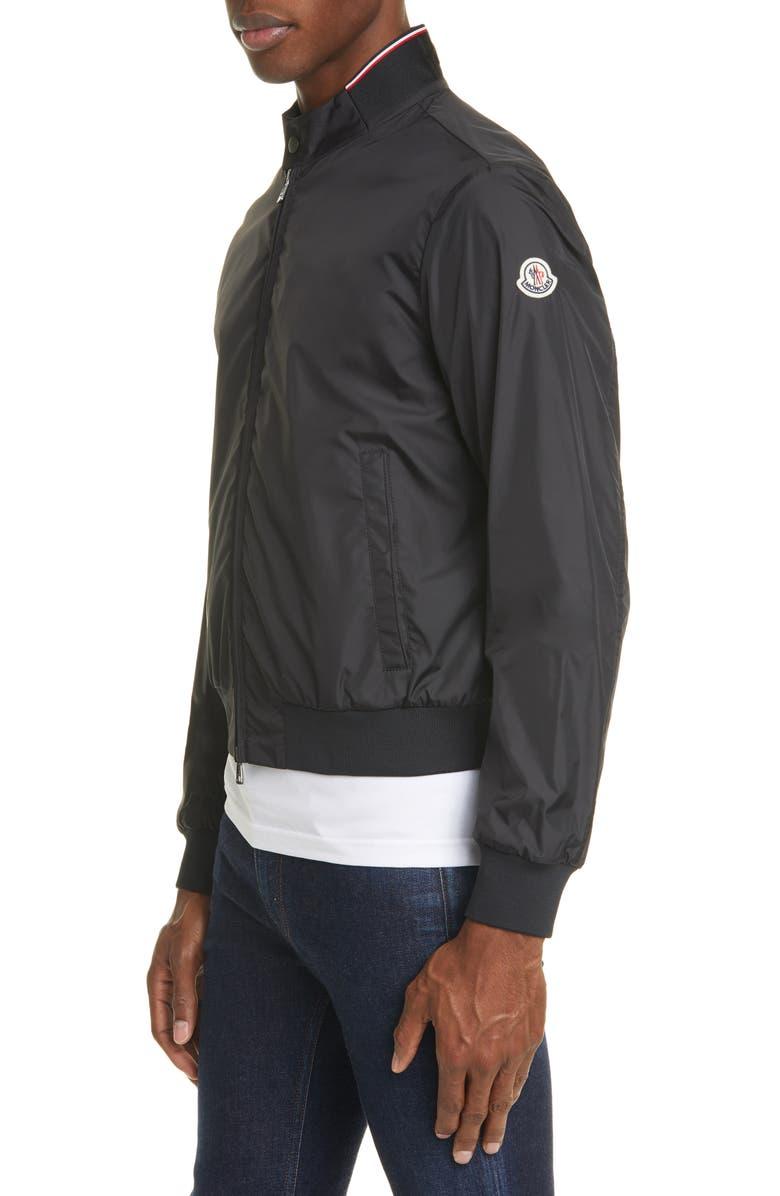 MONCLER Reppe Bomber Jacket, Main, color, BLACK