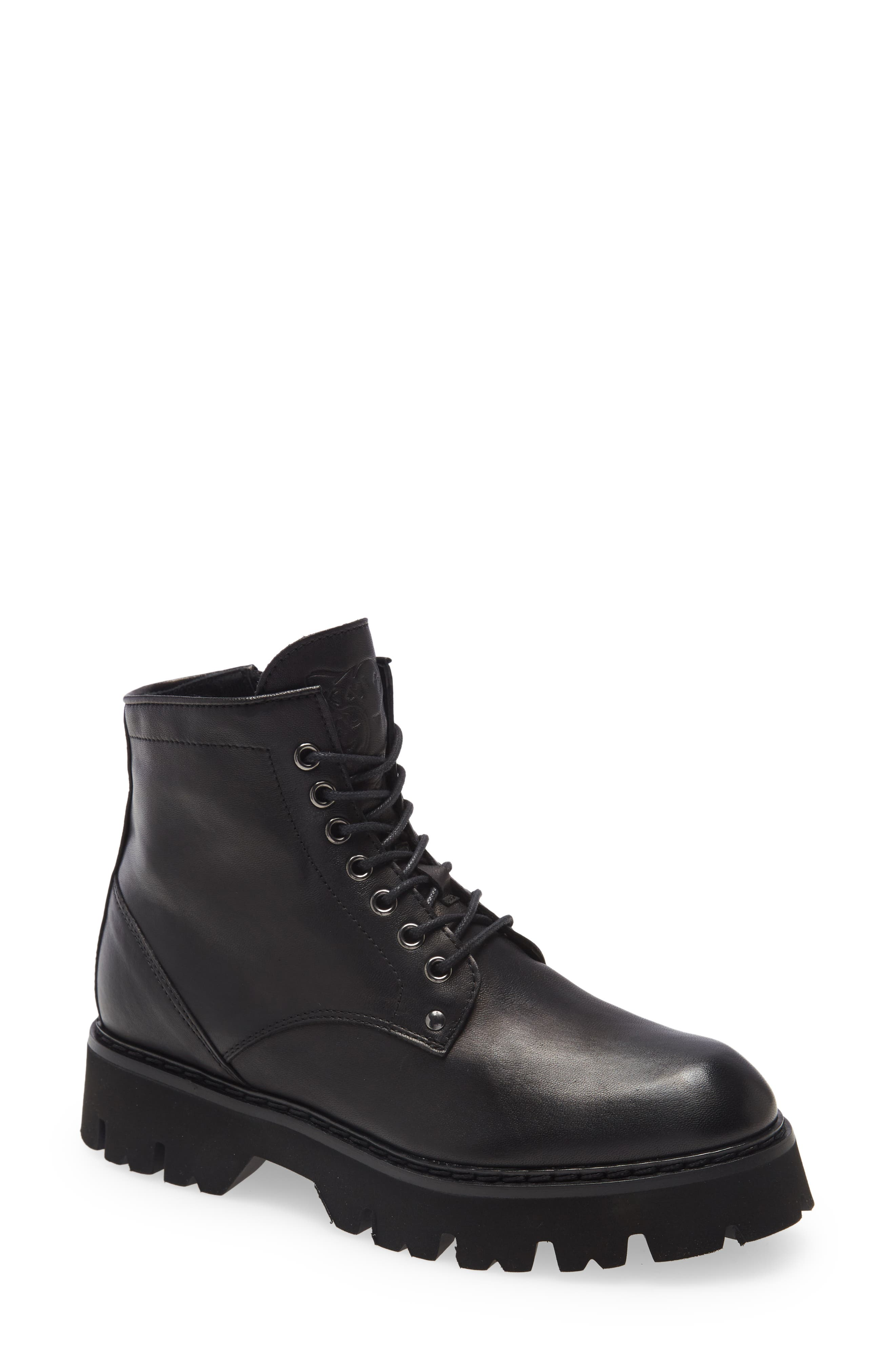 Hearted Combat Boot