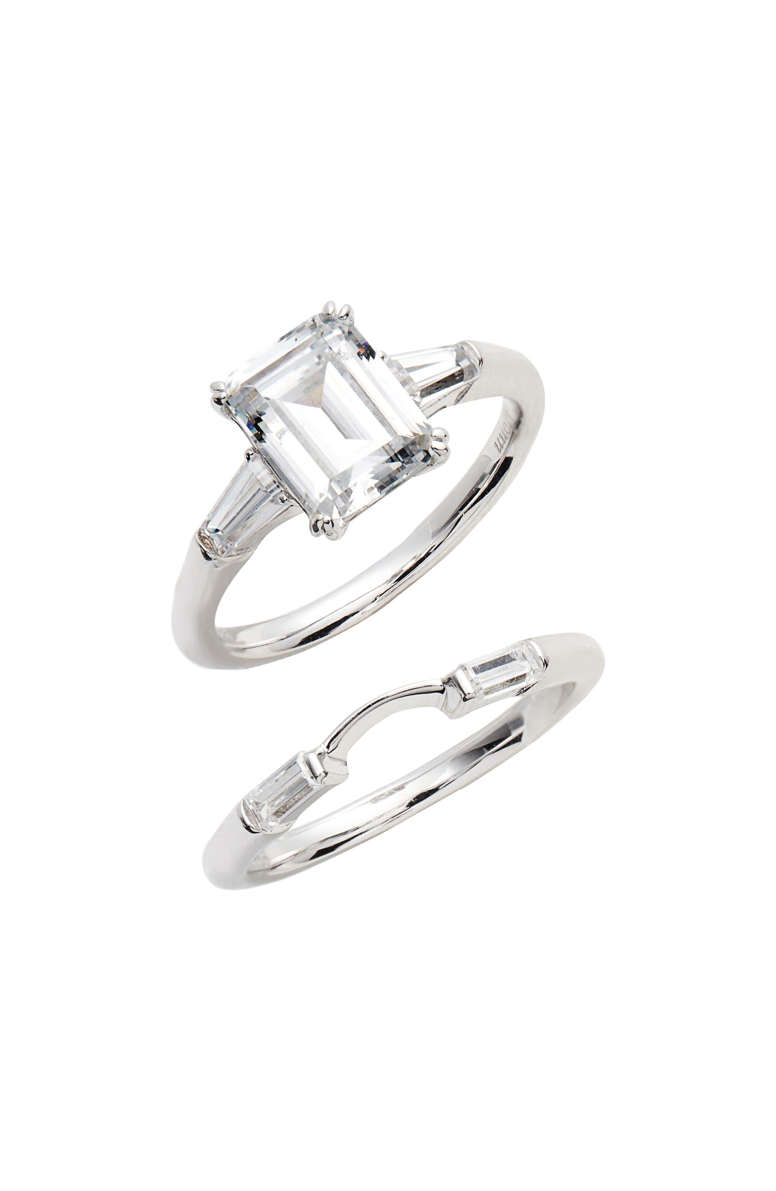 Emerald-Cut Ring