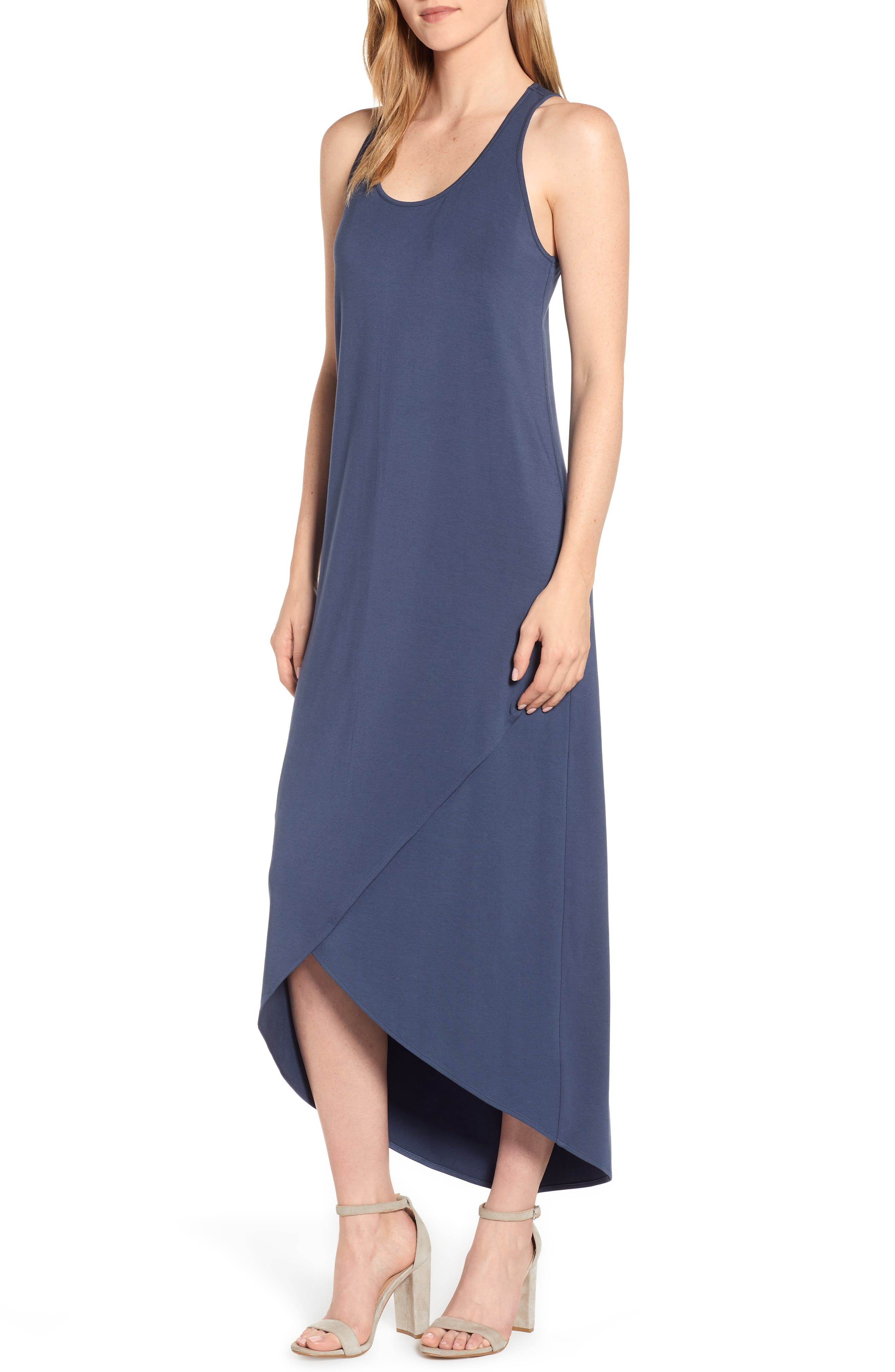 Nic+Zoe Ease Maxi Dress, Blue