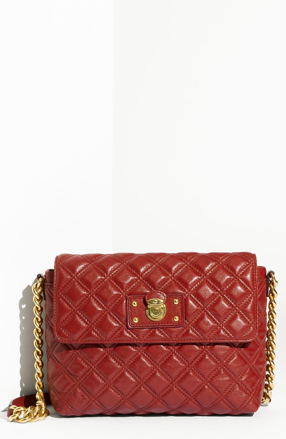 ,                             'Large Quilting Single' Leather Shoulder Bag,                             Main thumbnail 34, color,                             600