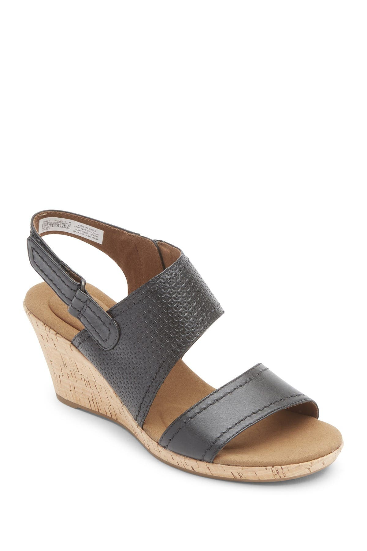 Image of Rockport Briah Wedge Sandal - Wide Width Available
