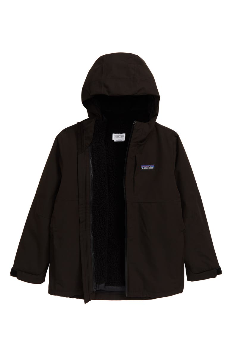 PATAGONIA 4-in-1 Everyday Jacket, Main, color, BLACK