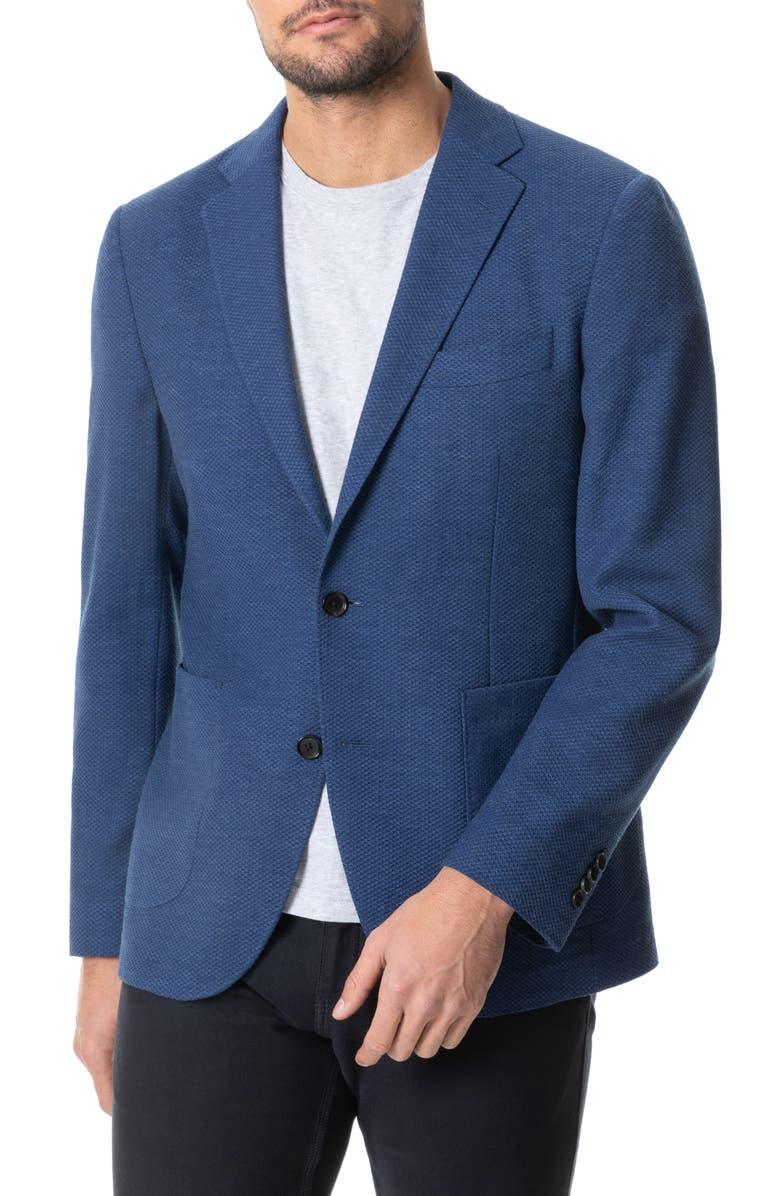 RODD & GUNN Fife Street Wool Blend Blazer, Main, color, INK