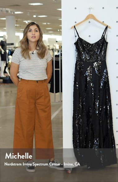 Marianna Paillette Evening Gown, sales video thumbnail