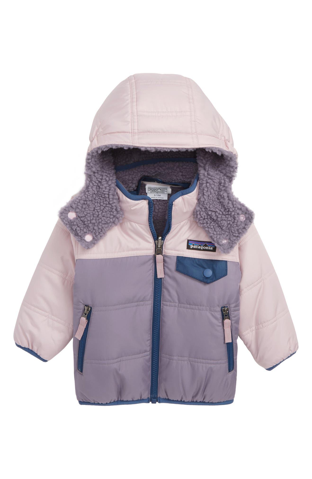 828753658025 Patagonia Tribbles Reversible Jacket (Baby Girls) | Nordstrom