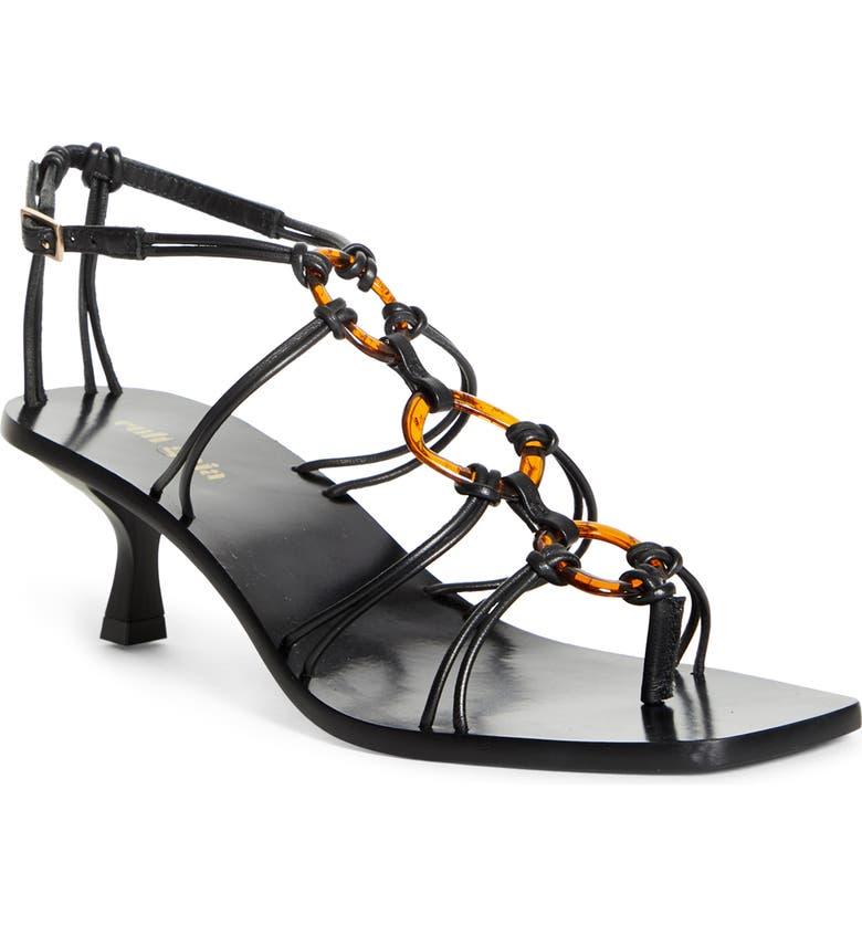 CULT GAIA Ziba Sandal, Main, color, BLK BLACK