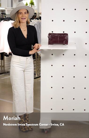 Topaz Leather Crossbody Bag, sales video thumbnail