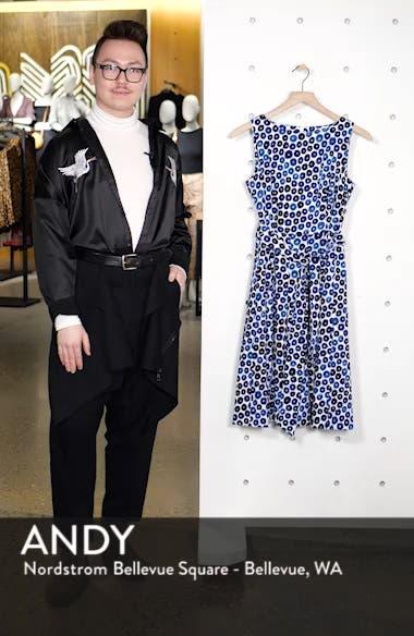 Neroli Print Fit & Flare Dress, sales video thumbnail