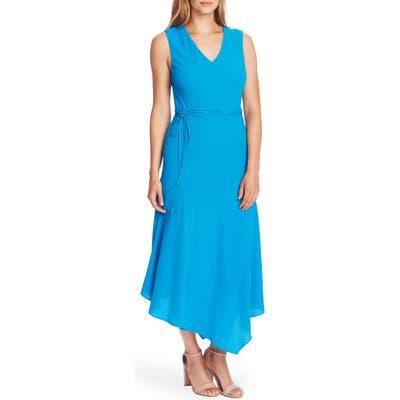 Vince Camuto Asymmetrical Midi Dress, Blue
