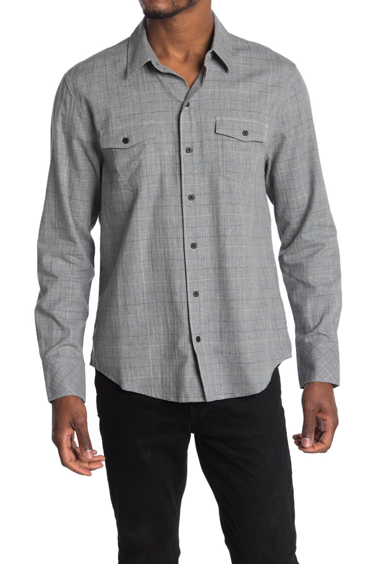 Image of PAIGE Everett Flannel Shirt