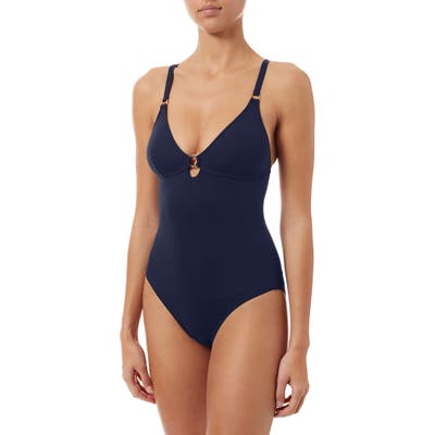 Melissa Odabash Havana One-Piece Swimsuit, Blue