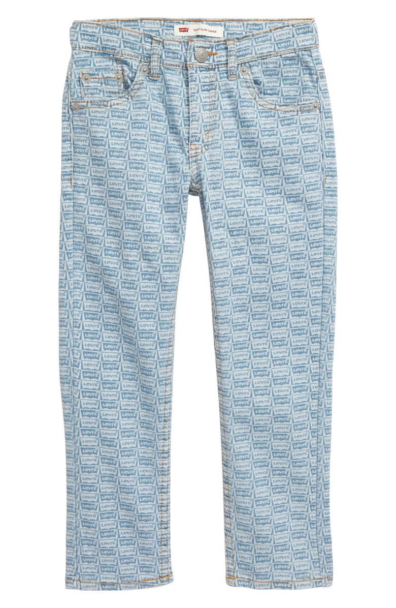 LEVI'S<SUP>®</SUP> 512<sup>™</sup> Slim Tapered Leg Jeans, Main, color, SALT CREEK