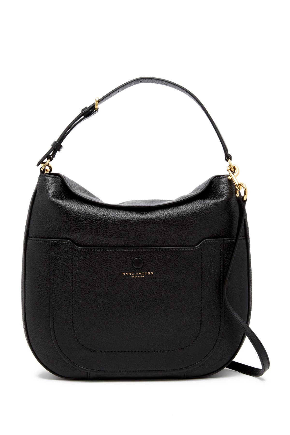 Image of Marc Jacobs Empire City Leather Hobo Bag