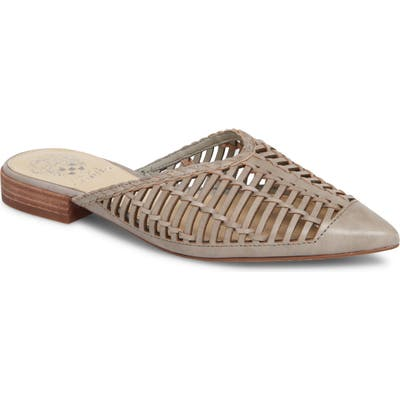 Vince Camuto Morley Woven Pointy Toe Mule, Grey