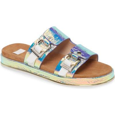 Louise Et Cie Alonsa Slide Sandal- Metallic