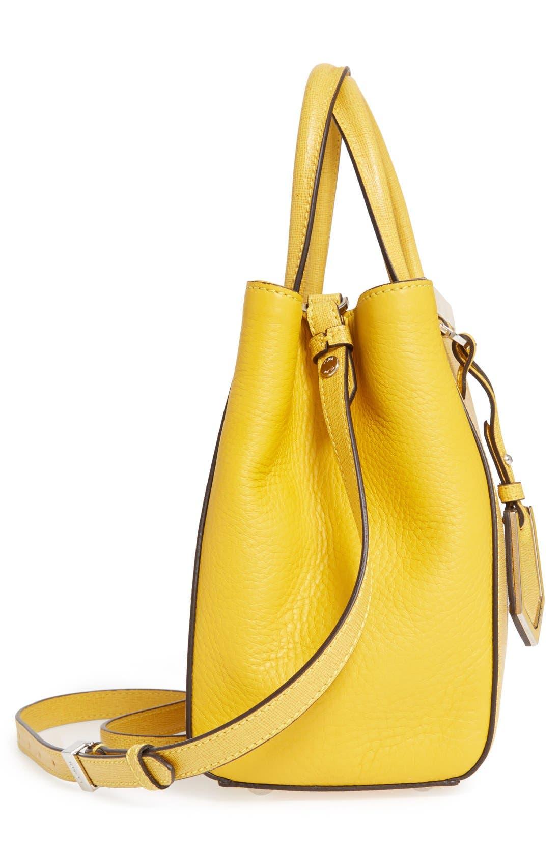 ,                             'Petite 2Jours Elite' Leather Shopper,                             Alternate thumbnail 113, color,                             700