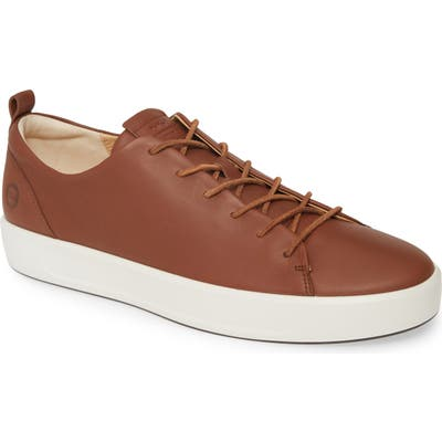 Ecco Soft Vii Sneaker, Brown