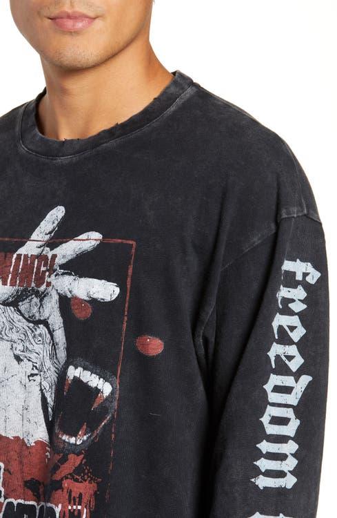 1194f05cc9b The Kooples Vampire Graphic Long Sleeve T-Shirt | Nordstrom