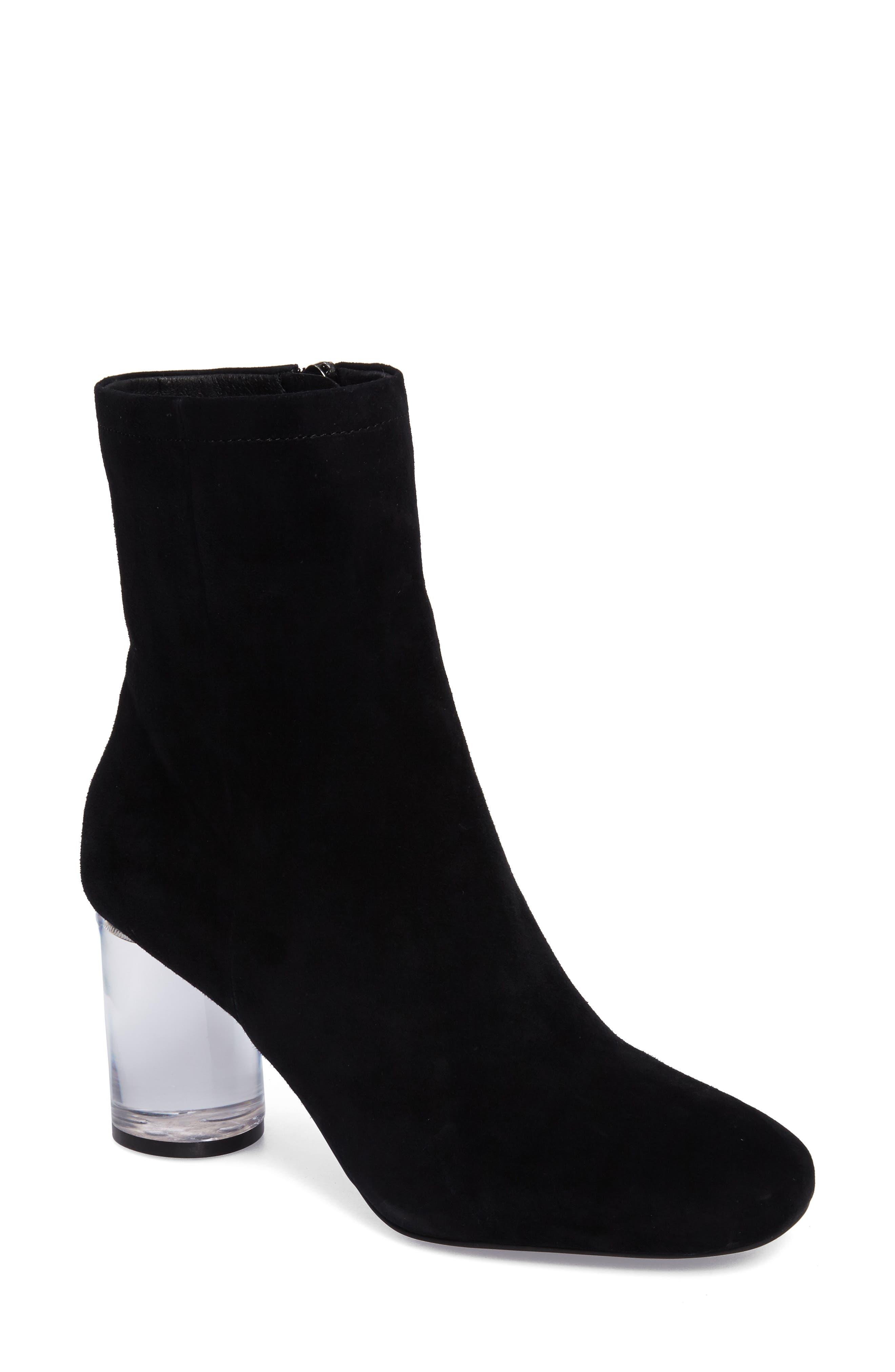 Merta Column Heel Bootie, Main, color, 001