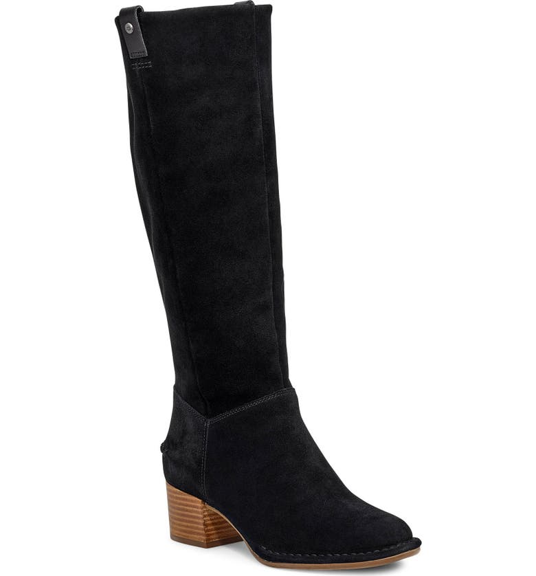 UGG<SUP>®</SUP> Arana Knee High Boot, Main, color, 001