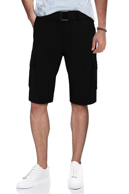 Image of XRAY Belted Snap Button Cargo Shorts