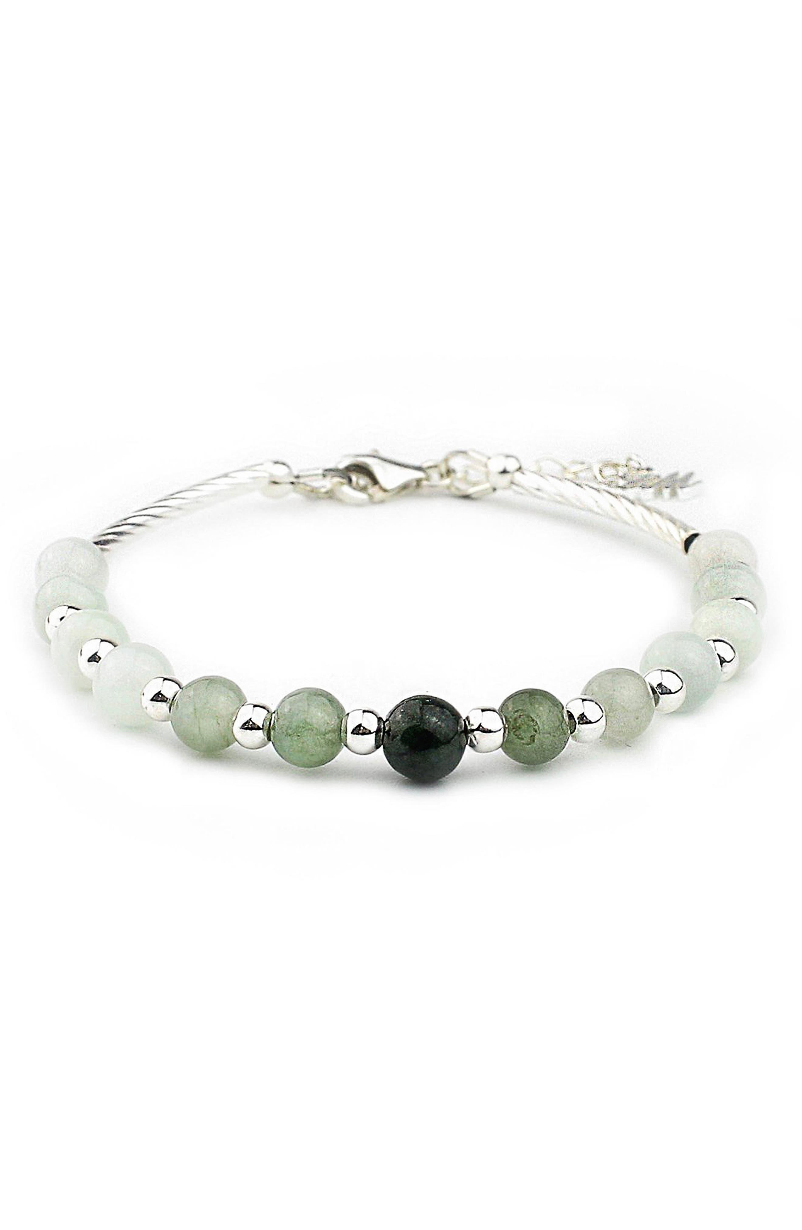 Green Forest Energy Stone Bracelet