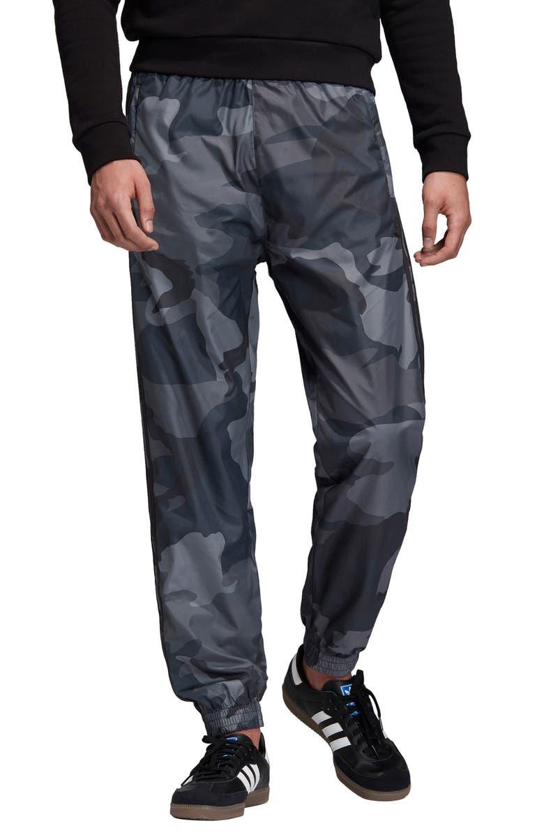 ADIDAS ORIGINALS Camo Woven Track Pants, Main, color, MULTICOLOR