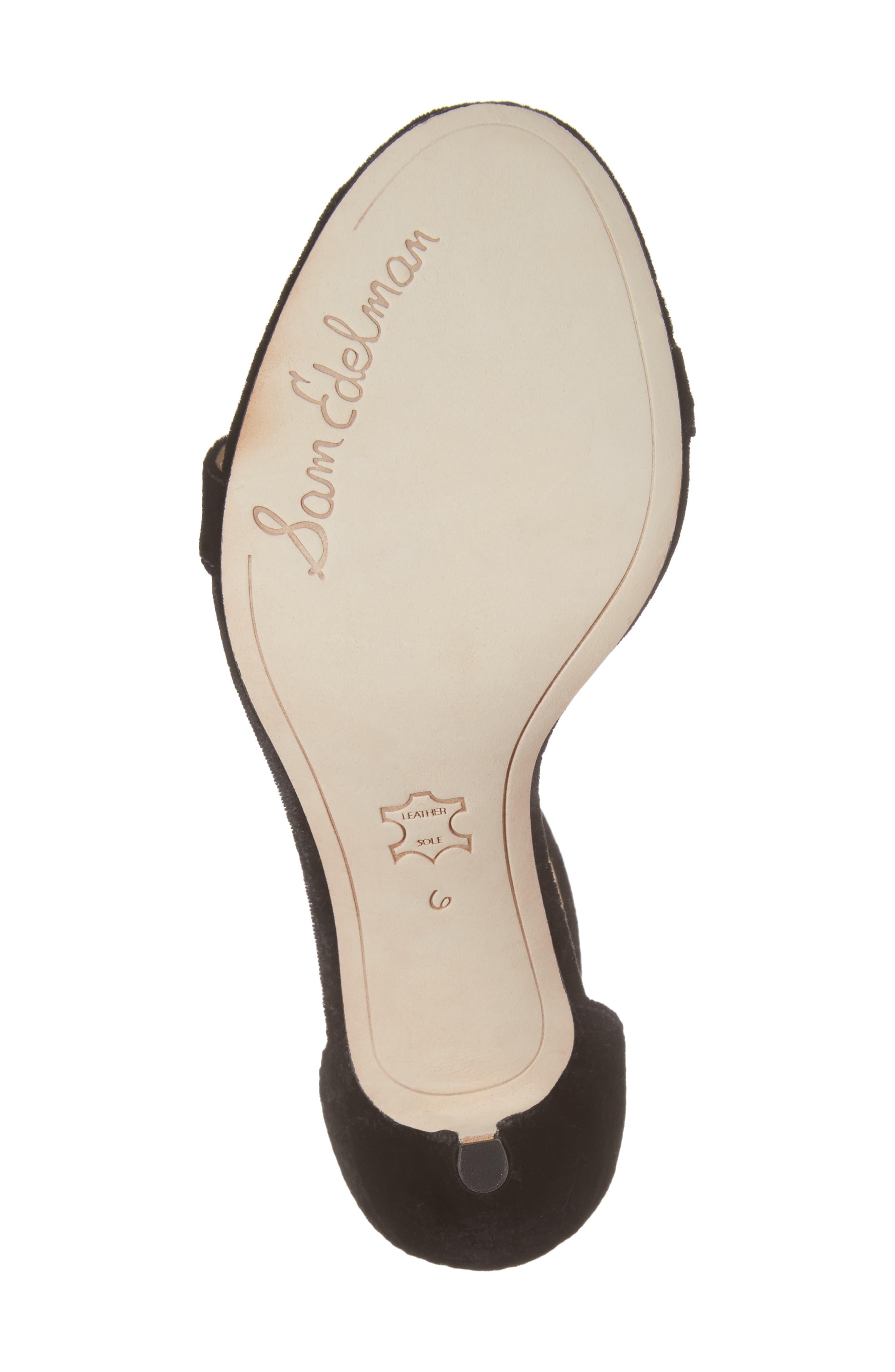 ,                             'Patti' Ankle Strap Sandal,                             Alternate thumbnail 12, color,                             006