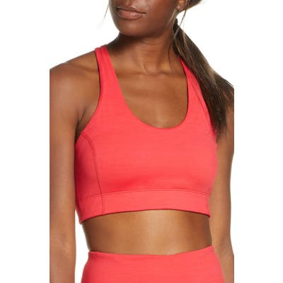 Outdoor Voices Doing Things Sports Bra, Red