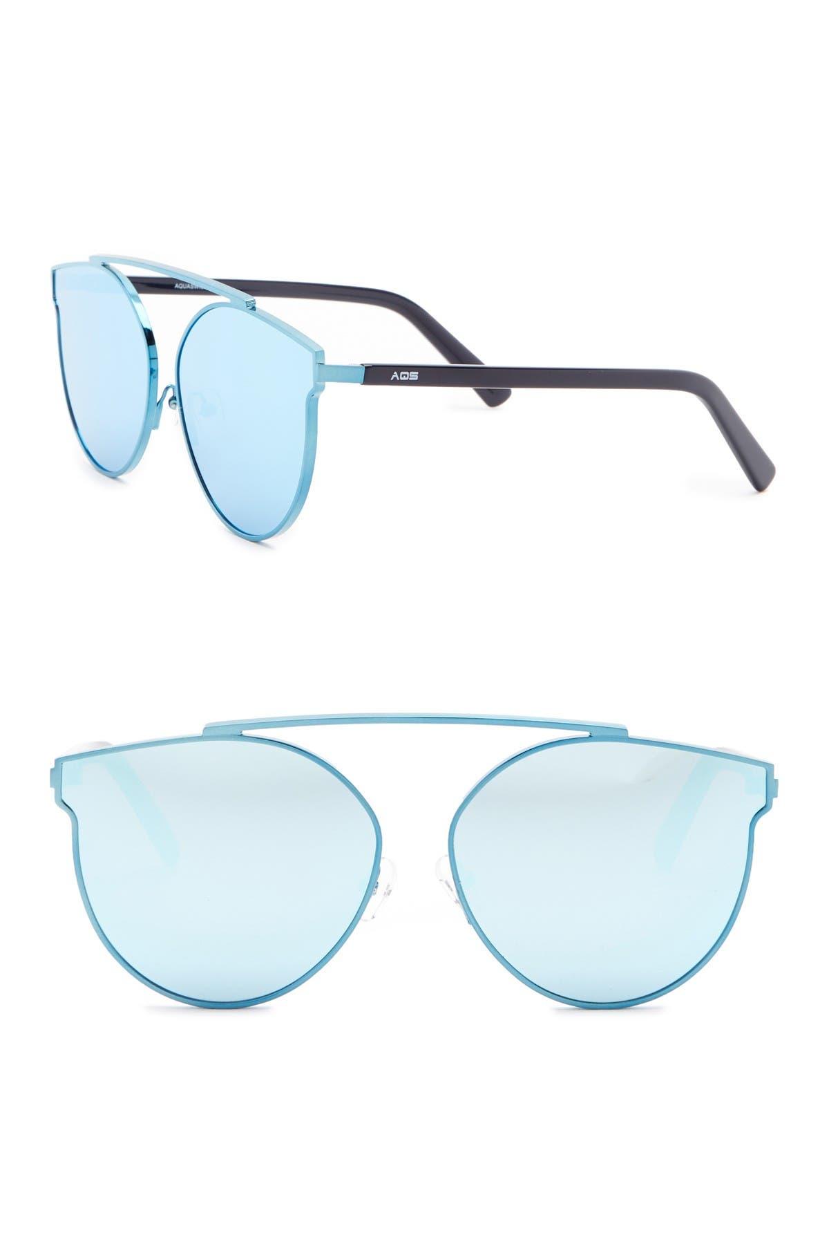 Image of AQS Ivy 62mm Aviator Sunglasses