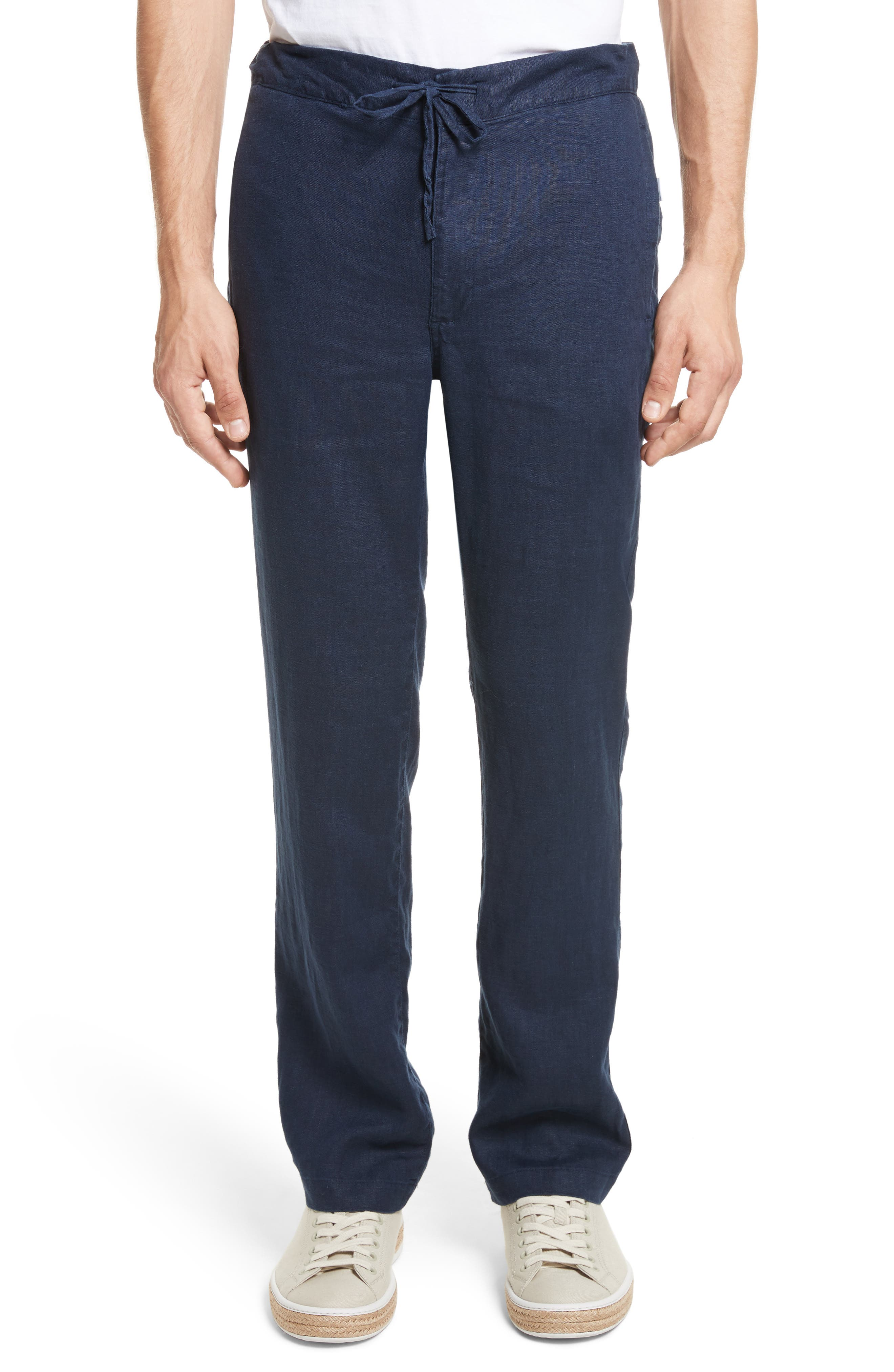Image of Onia REGULAR FIT COLLIN LINEN PANT