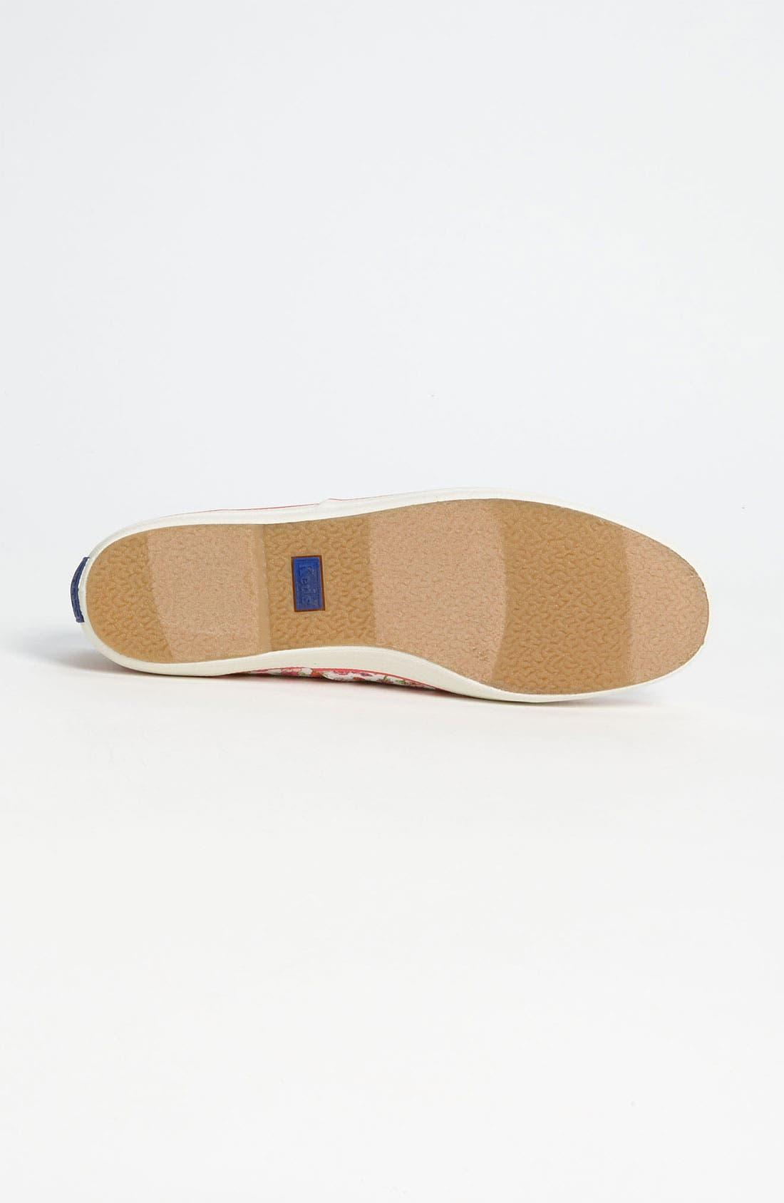 ,                             'Champion - Floral' Sneaker,                             Alternate thumbnail 3, color,                             100