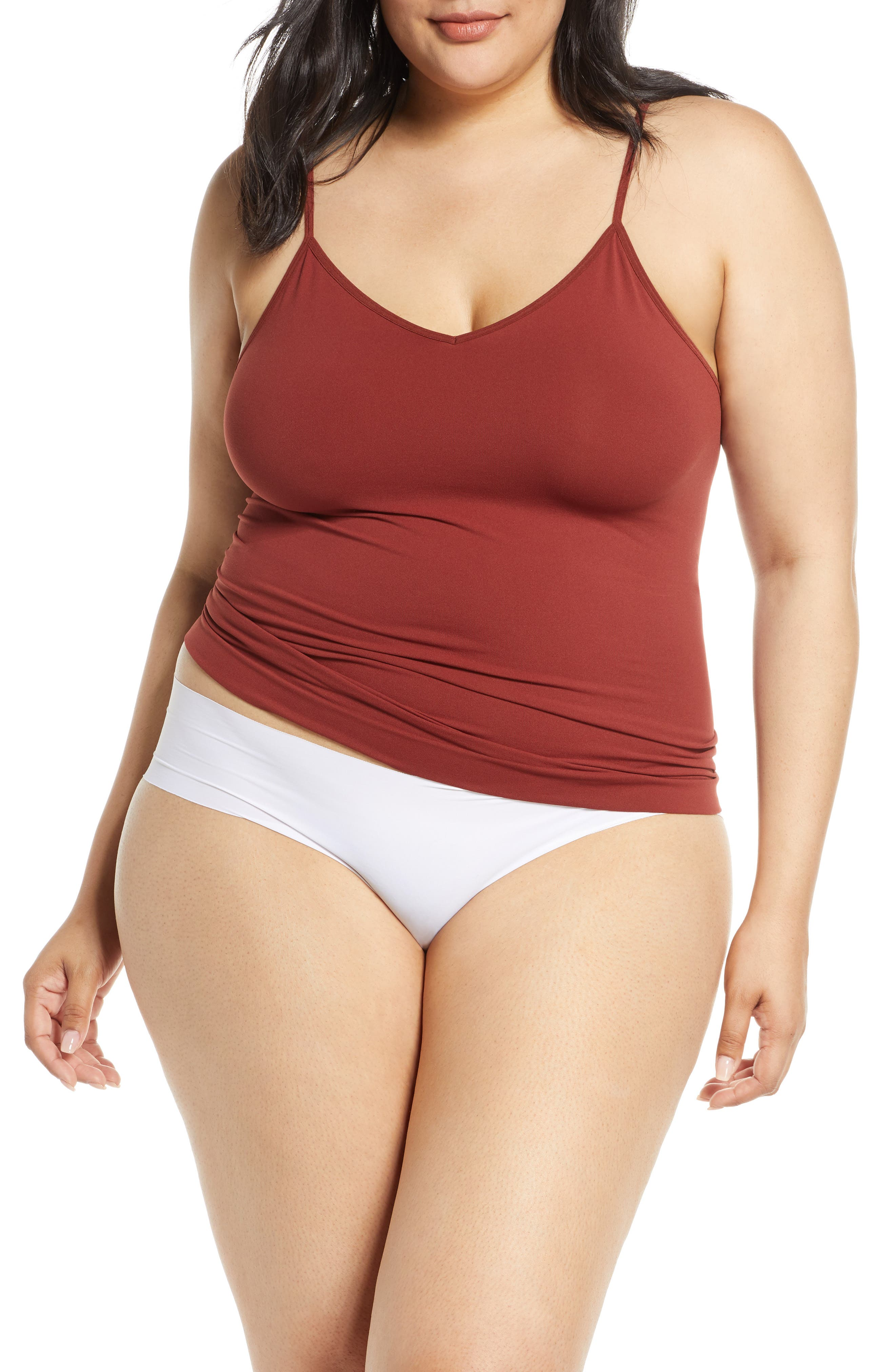 Halogen® Seamless Two-Way Camisole (Plus Size) (Any 2 for $49)