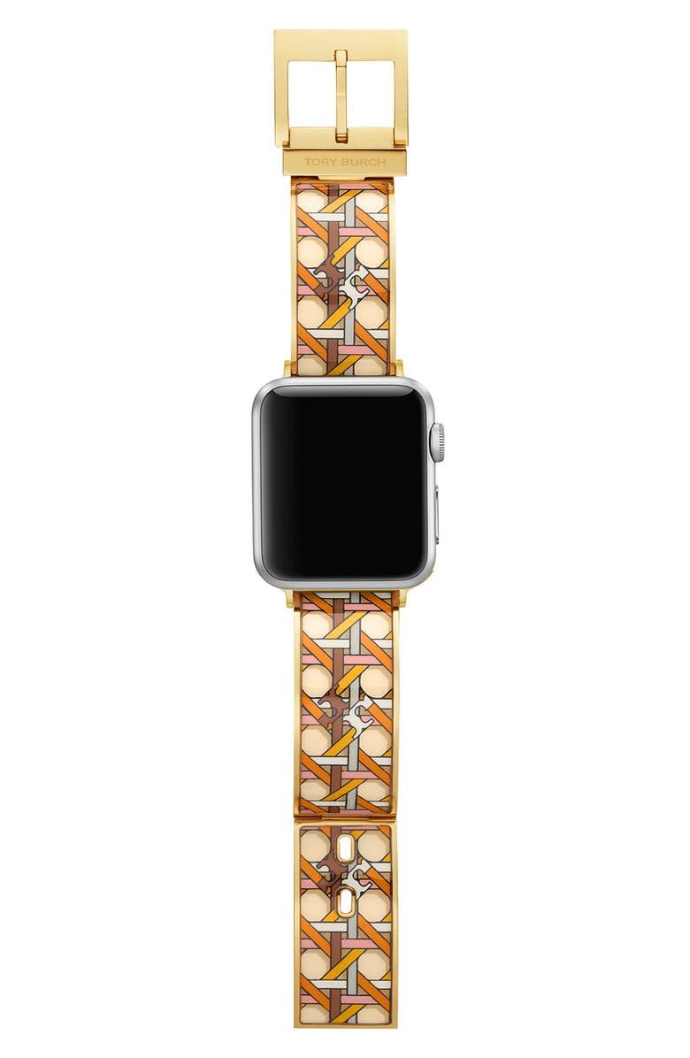 토리버치 Tory Burch Buddy Bangle Band for Apple Watch, 38mmu002F40mm,multi