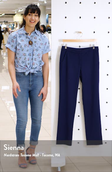 Slim Straight Trousers, sales video thumbnail