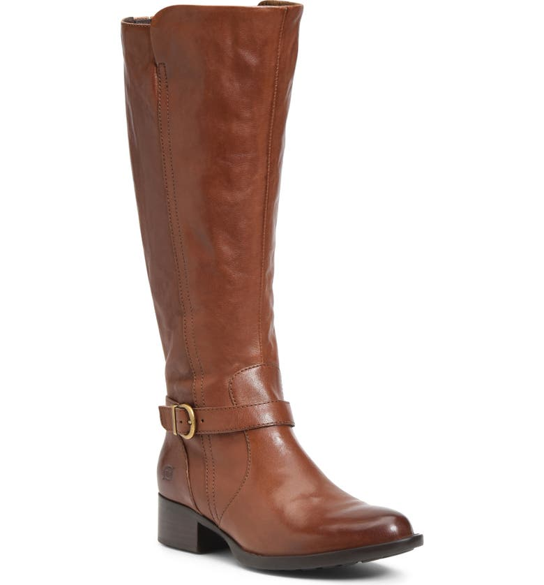BØRN Cosna Boot, Main, color, BROWN LEATHER