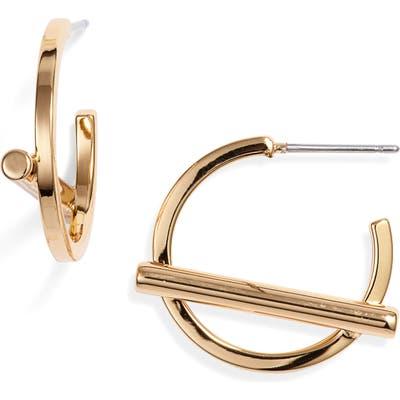 Jenny Bird Small Trust Hoop Earrings