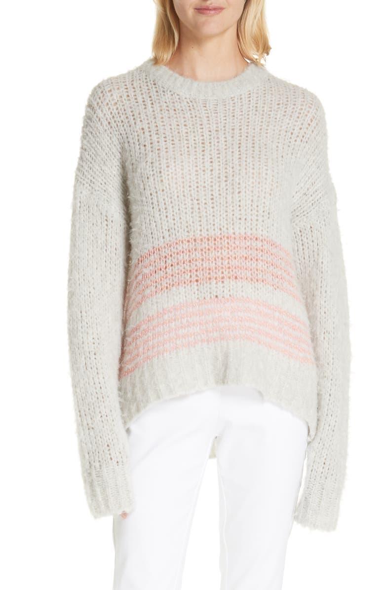 RAG & BONE Iceland Wool Blend Sweater, Main, color, 020