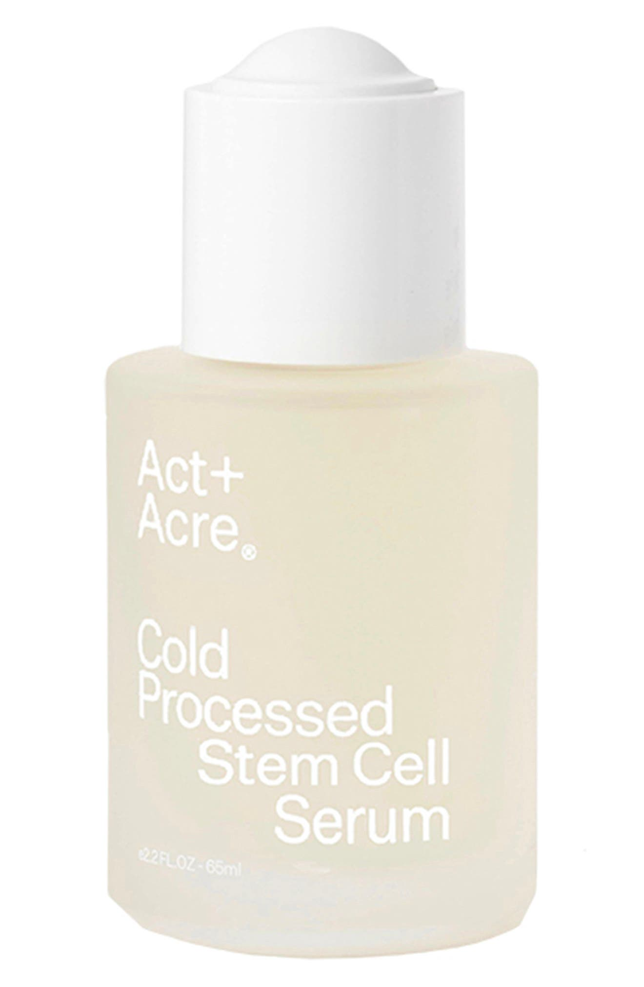 Act+Acre Cold Processed Stem Cell Serum for Hair in No Color at Nordstrom