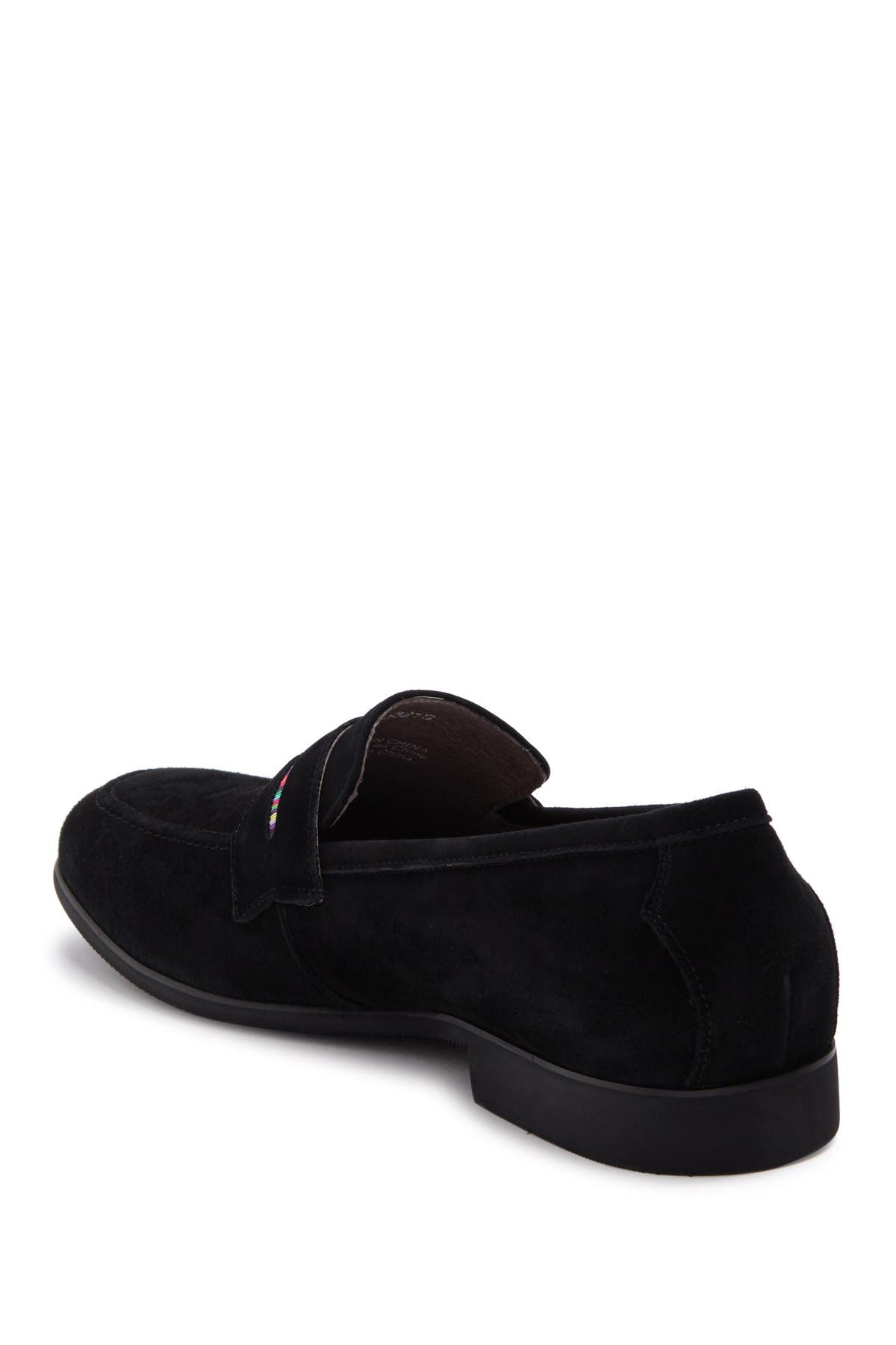 Image of Robert Graham Mitchum Leather Penny Loafer